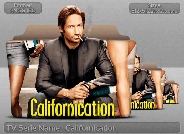 Californication (TV series) DeviantArt More Like Californication Tv Series Folder Icon by atty12