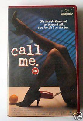 Call Me (film) Call Me1988Patricia Charbonneau Amazoncouk Video