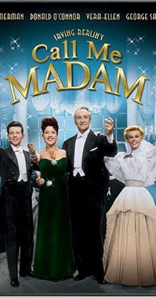 Call Me Madam (film) Call Me Madam 1953 IMDb