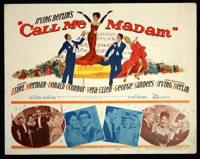 Call Me Madam (film) Merman OConnor Ellen and Sanders stun in Call Me Madam 1953