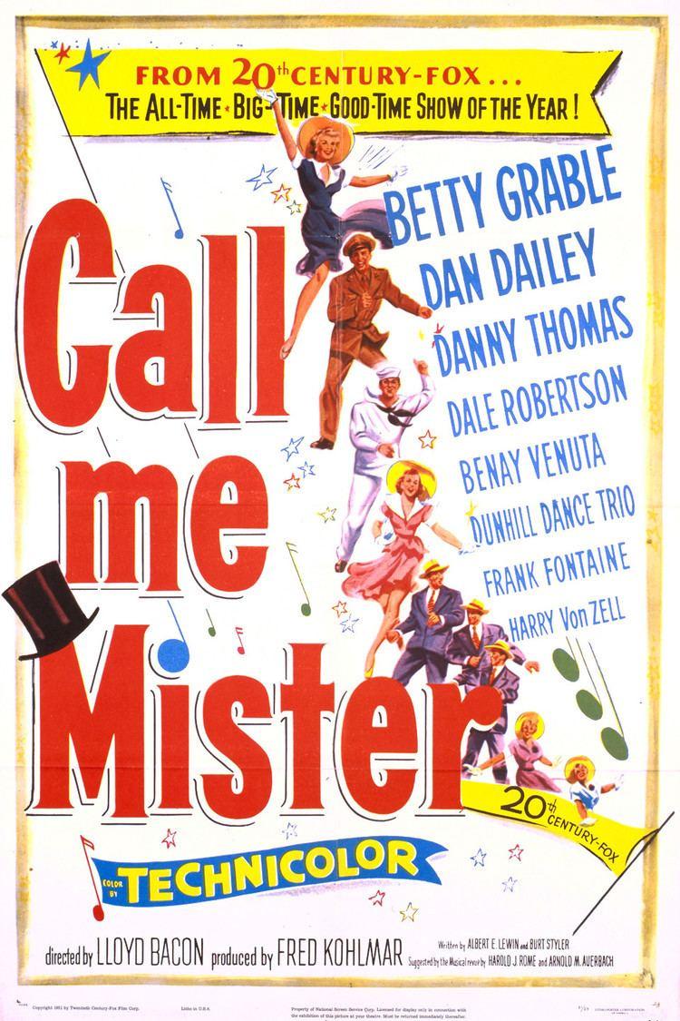 Call Me Mister (film) wwwgstaticcomtvthumbmovieposters5849p5849p