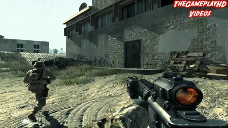 Call of Duty 4: Modern Warfare Call of Duty 4 Modern Warfare Missin 4 quotCharlie no hace Surf