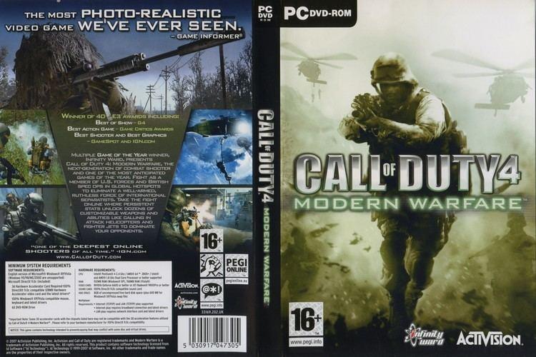 Call of Duty 4: Modern Warfare httpswwwfreedvdcovercomwpcontentuploads20