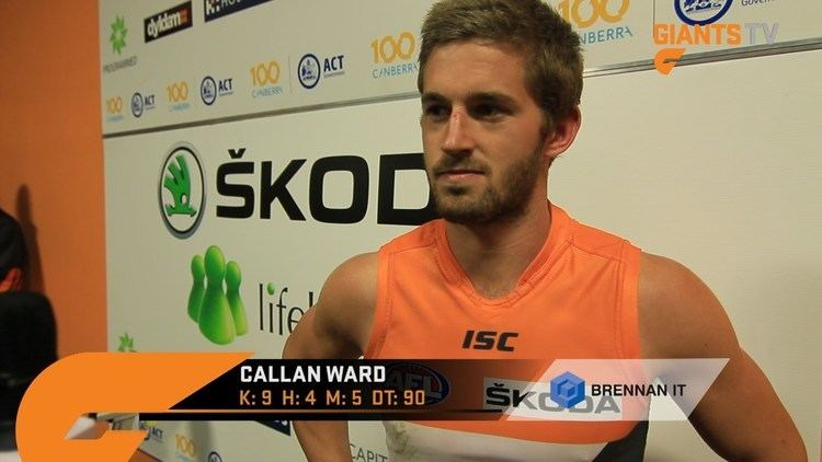 Callan Ward RD9 Post Match Callan Ward YouTube