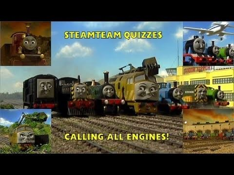 Calling All Engines! movie scenes SteamTeam Quizzes Calling All Engines HD