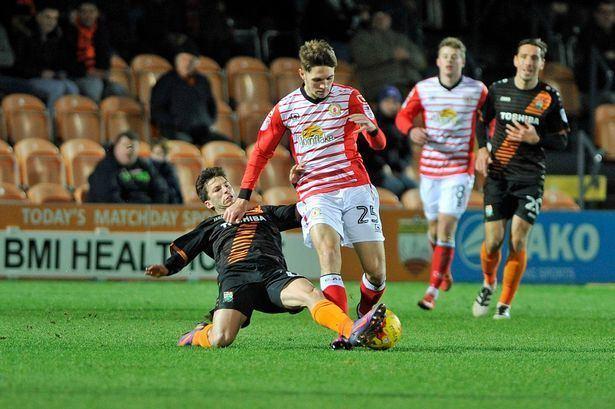 Callum Ainley Crewe Alex midfielder Callum Ainley aims to rise from dip in form