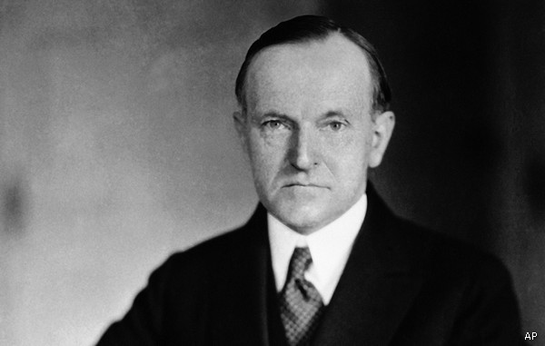 Calvin Coolidge President Calvin Coolidge Honored with Journalism Prize