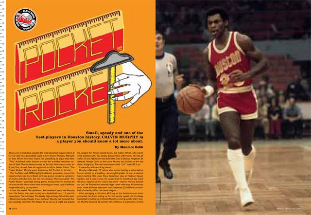 Calvin Murphy Original Old School Pocket Rocket SLAMonline