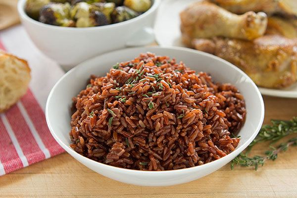 Camargue red rice Camargue French Red Rice Pilaf