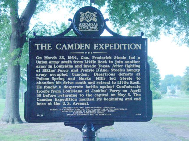Camden Expedition wwwarkansascivilwar150comUserFilesmarkersCam