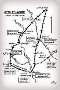 Camden Expedition Camden Expedition April 26 1864 civilwarreflections
