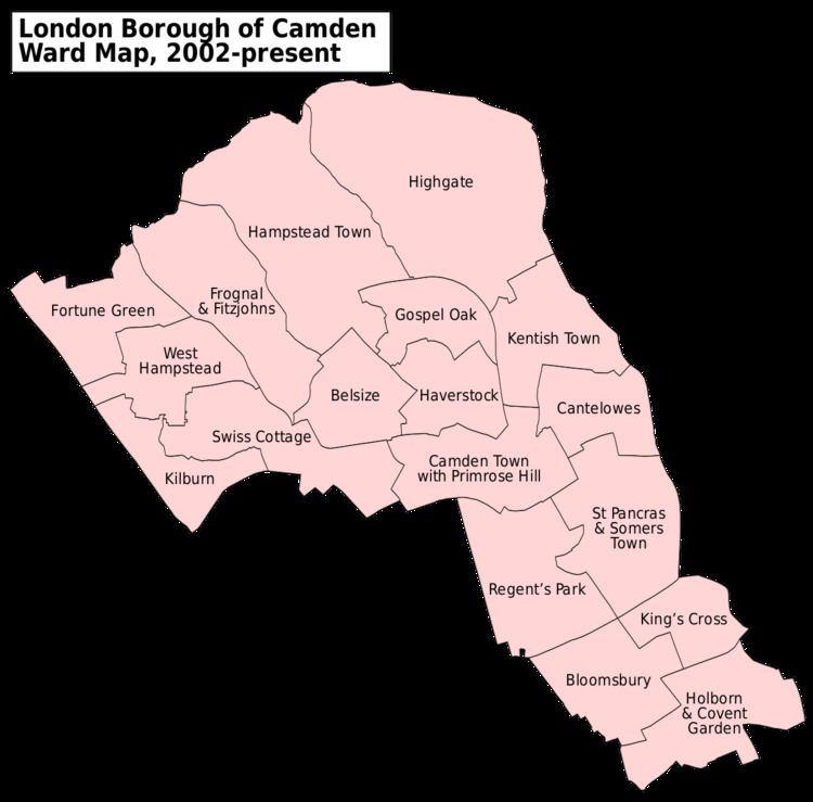 Camden London Borough Council elections