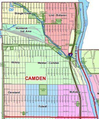 Camden, Minneapolis Minneapolis Camden Community Neighborhood Boundary Signs