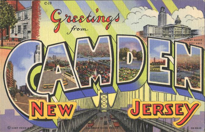 Camden, New Jersey in the past, History of Camden, New Jersey