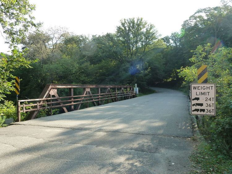 Camden State Park Bridgehuntercom Redwood River Bridge at Camden State Park