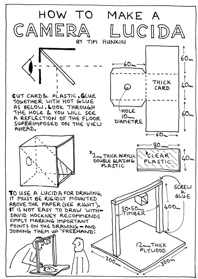 Camera lucida DIY Camera Lucida APUGORG