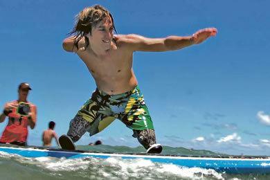 Cameron Clapp Inspiring Everyone At Hanalei Bay Currents Midweekcom