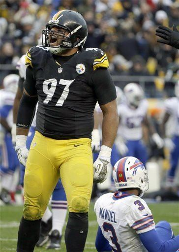 Cameron Heyward On a day for giving Steelers do their part Cameron Heyward