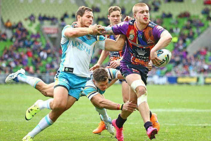 Cameron Munster Cameron Munster scores hattrick as Melbourne Storm beat