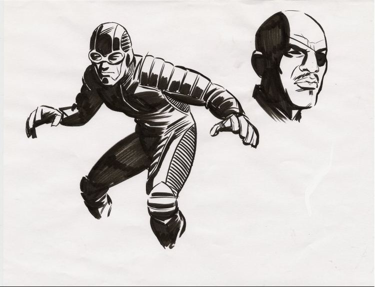 Cameron Stewart Ultimate GiantMan and Nick Fury by Cameron Stewart in Kimberly
