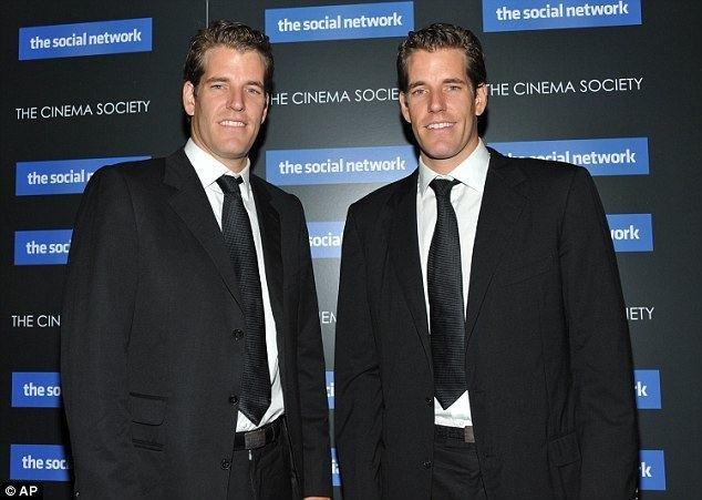 Cameron Winklevoss Winklevoss twins to take on Wall Street with 39Nasdaq of