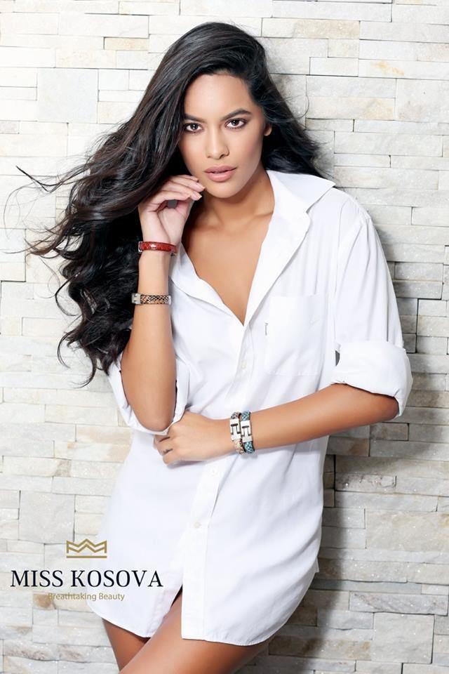 Camila Barraza Miss KOSOVO Universe 2016 is Camila Barraza