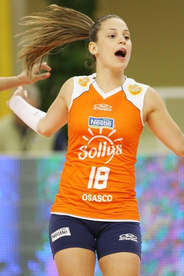 Camila Brait Camila Braitvolei player lbero Brazilian Team and
