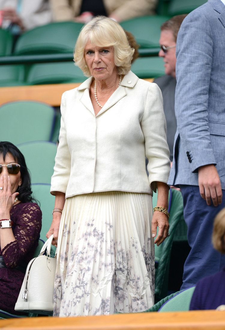 Camilla, Duchess of Cornwall On Thursday Camilla Duchess of Cornwall was in