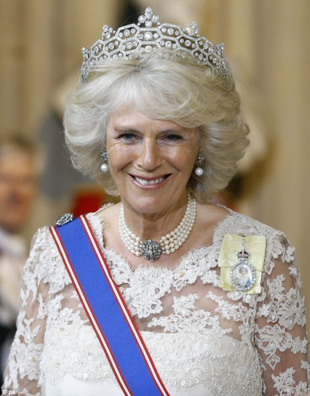 Camilla, Duchess of Cornwall Duchess of Cornwall As Her Majesty falters enter Camilla