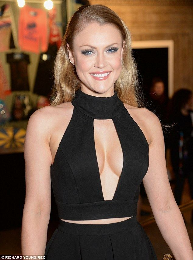 Camilla Kerslake Camilla Kerslake takes the plunge in a daring LBD slashed
