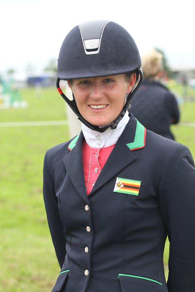 Camilla Kruger Eventing for Africa