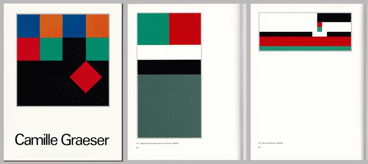 Camille Graeser art concret art constructiv prints catalogues lydia megert