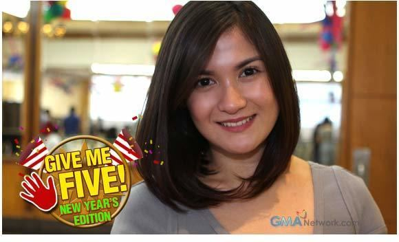 Camille Prats GIVE ME FIVE featuring Camille Prats New Year edition