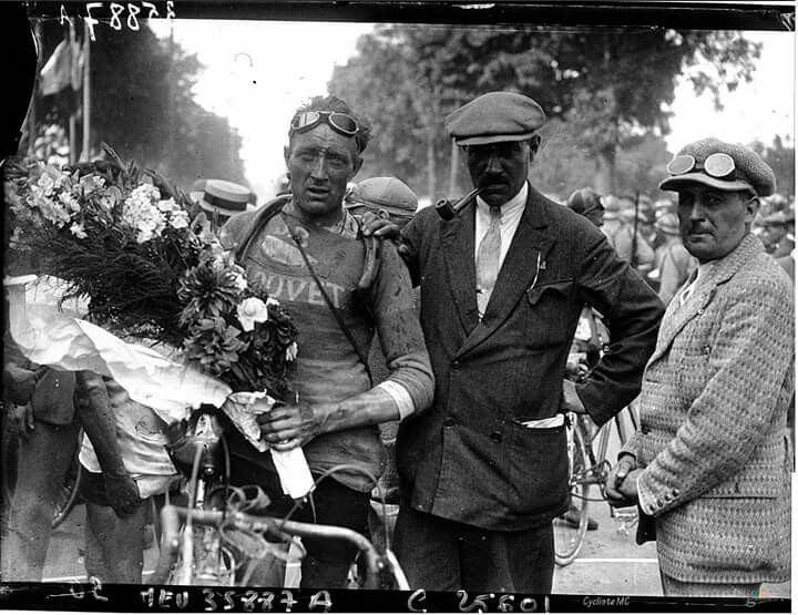 Camille Van De Casteele Tour de France 1926 Camille Van de Casteele cyclistes