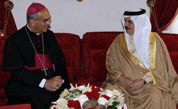 Camillo Ballin Bahrain News Agency HM King Hamad Receives Bishop
