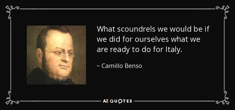 Camillo Benso, Count of Cavour TOP 7 QUOTES BY CAMILLO BENSO COUNT OF CAVOUR AZ Quotes