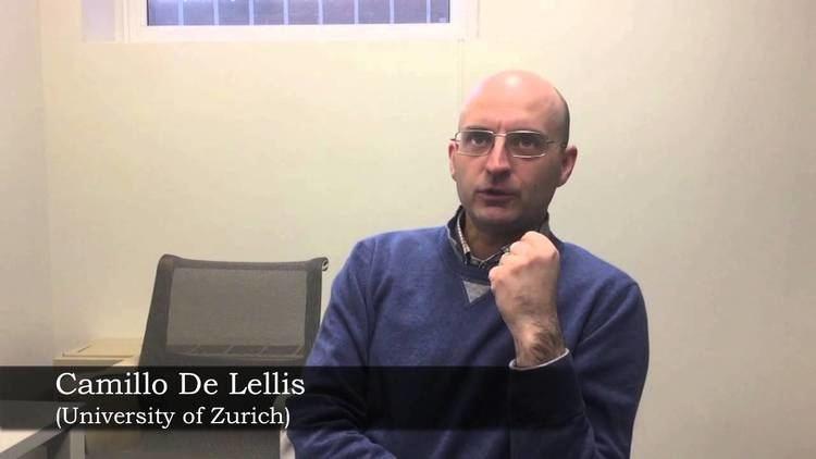 Camillo De Lellis Prof Camillo De Lellis University of Zurich YouTube