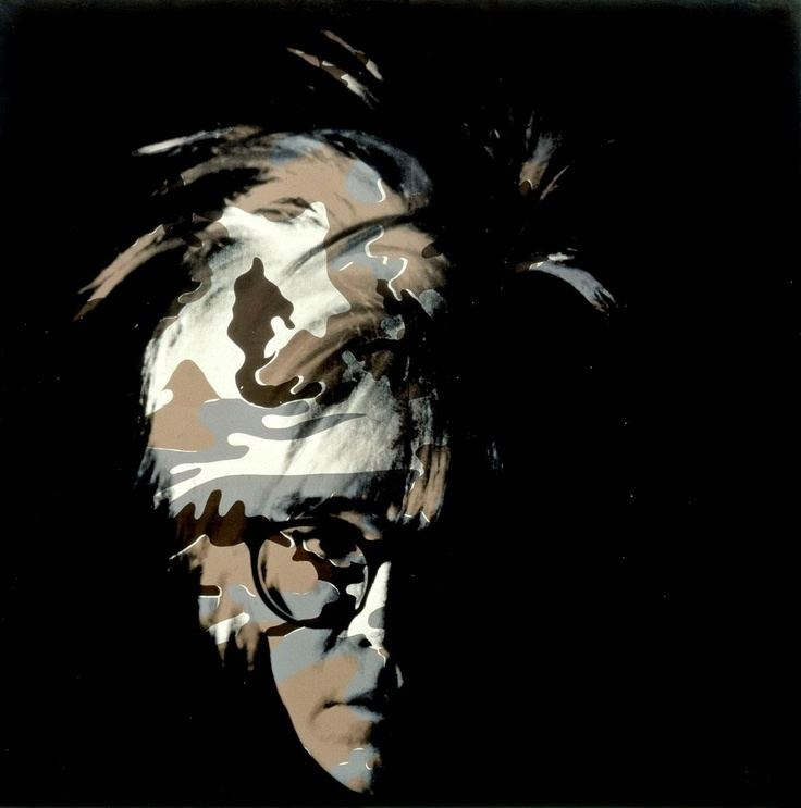 Camouflage Self-Portrait Andy Warhol Camouflage SelfPortrait 1986 Synthetic polymer paint