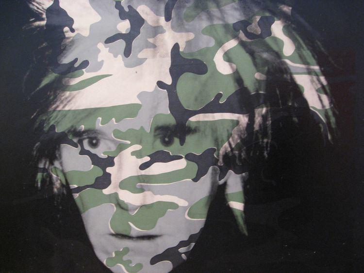 Camouflage Self-Portrait Camouflage SelfPortrait by Andy Warhol Art Pinterest Warhol