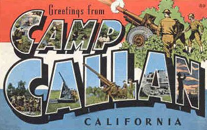 Camp Callan Historic California Posts Camp Callan