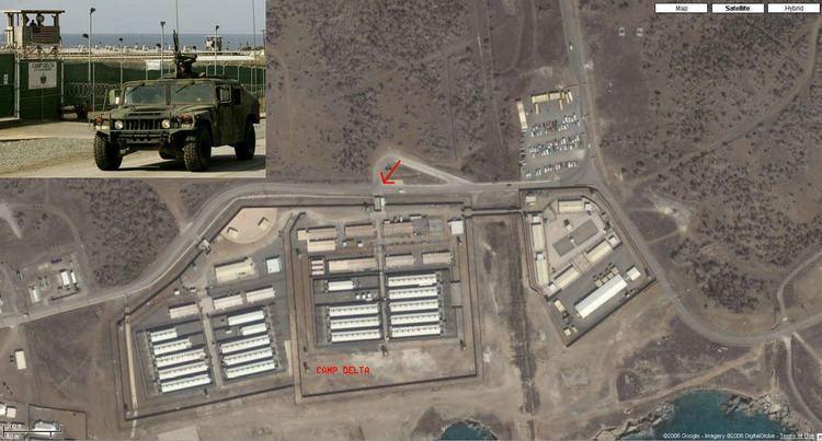 Camp Delta (Guantanamo Bay) Eyeballing Guantanamo Detainee