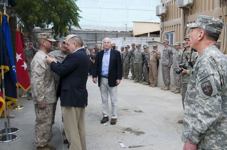 Camp Eggers FileUS senators promote Camp Eggers Marine in Afghanistan