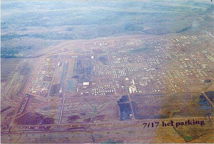Camp Enari Camp Enari From The Air 1968