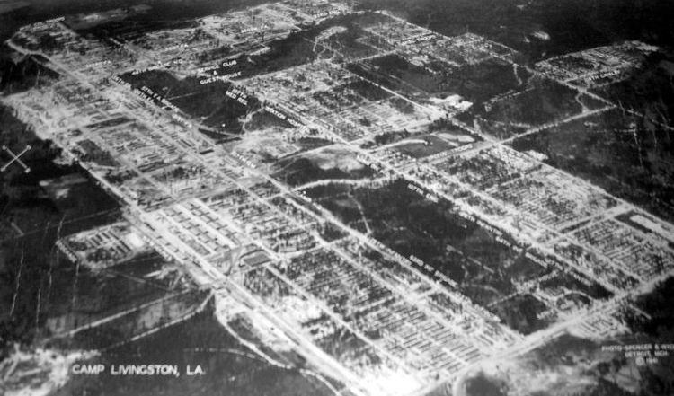Camp Livingston Camp Livingston Louisiana WWII Army Camp near history maps camp