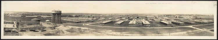 Camp MacArthur Panoramic view of Camp MacArthur Waco Texas April 9th 1918