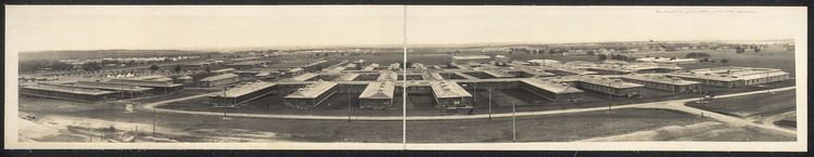Camp MacArthur Panoramic view Base Hospital Camp MacArthur Waco Texas April 9th