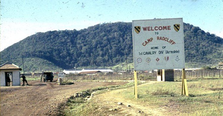 Camp Radcliff Camp Radcliff Gate close to An Khe Vietnam Entry gate of the Camp