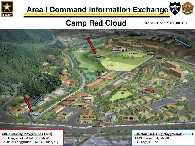 Camp Red Cloud Area I Command Information Exchange April 13 2015