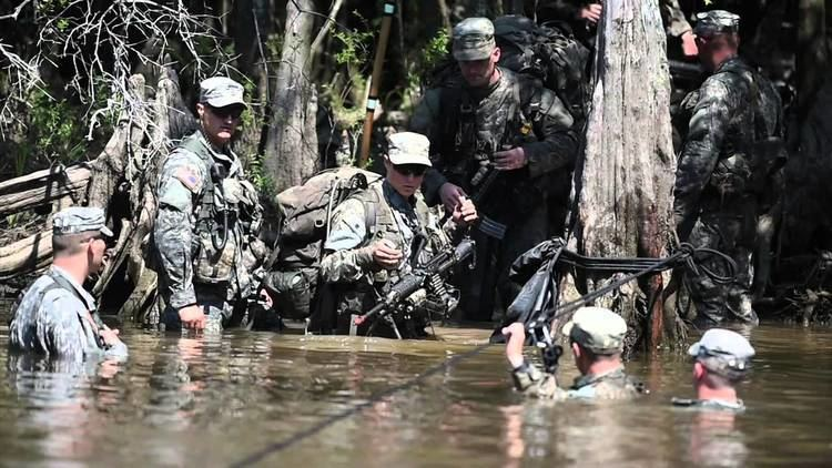 Camp Rudder Female Army Ranger students train at Camp Rudder YouTube