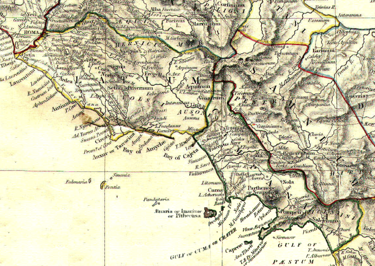 Campania in the past, History of Campania